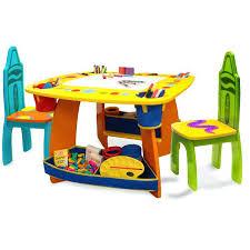 fancy deluxe art master desk for house design grow n up crayola wooden kids 3 piece