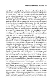 implementing change in offshore safety culture strengthening the  page 181