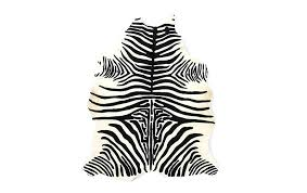 zebra hide rug ikea leather cowhide colonial