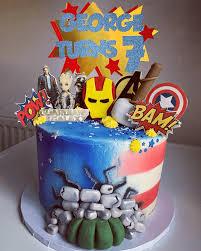 Free cake decorating lessons by cake: Avengers Cake Design Images Avengers Birthday Cake Ideas