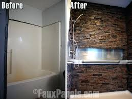 plastic wall panels for bathrooms best waterproof bathroom wall panels ideas on plastic shower wall panels