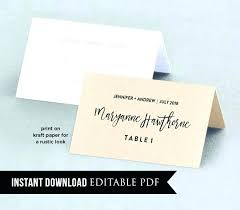 wedding table cards template wedding table cards template homeish co
