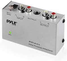 Pyle-Pro PP444 Ultra Compact Phono <b>Turntable</b> Preamp: Amazon.ca