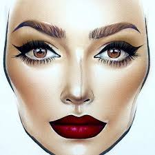 640x640 107 best face charts images on mac face charts make