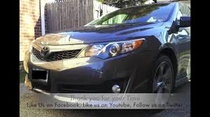 2012 Camry Black Out - YouTube
