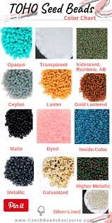 Toho Beads Color Chart Toho Color Chart Best Picture Of Chart Anyimage Org