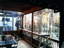 vinyl patio enclosures roll up uk clear curtains ideas for the removable patio enclosures removable plastic