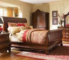 Classic Unique Wood Bed Design For Bedroom Interior By A.R.T Furniture  Calais
