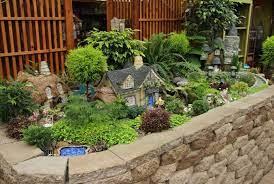 fairy village fairy garden decor
