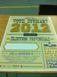 Pin On Student Vote Alberta 2012