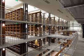 Renovation Warehouse Renovation Of The National Library Of France By Jean Franassois