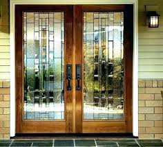 double entry door with glass double front doors with glass double entry doors with glass double