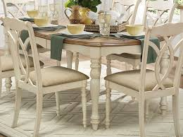 antique white dining chairs. azalea dining table - antique white chairs