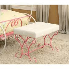 pink bedroom bench. Delighful Bench Unique Pink Bedroom Bench Throughout B