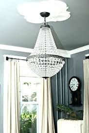 crystal drop chandelier pottery barn chandelier chandelier pottery barn clarissa crystal drop small round chandelier instructions