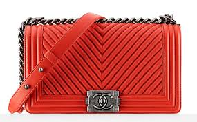 Check Out Chanel's Pre-Spring 2015 Bags, in Stores Now - PurseBlog & Chanel-Chevron-Quilted-Boy-Bag Adamdwight.com