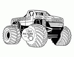 Small Picture Coloring Pages Bigfoot Coloring Pages Printable Coloring Pages