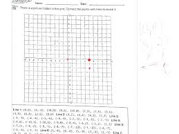 Geography Map Grid Worksheets For Second Grade Coordinate Mystery