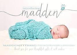 New Baby Birth Announcement Boy Or Girl Aplicativo Pro