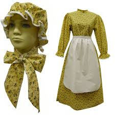 pioneer woman clothing. amazon.com: prairie girl dress set child new calico 1223: clothing pioneer woman