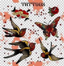 Tattoo Stock photography , Decorative bird tattoo PNG clipart   free  cliparts   UIHere