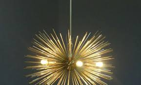 how to replace a chandelier light socket mid century bulbs gold brass sphere urchin chandelier light