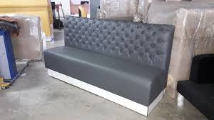 booth bench seating sofa vintage chesterfield restaurant 54 per foot 1 of 5 see more