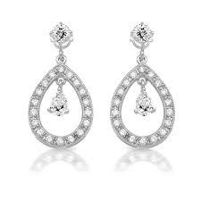 chandelier earrings e209w