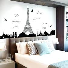 eiffel tower wall sticker removable tower wall stickers room decoration eiffel tower wall decal target