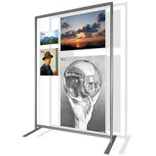 Free Standing Photo Display Art eStuff Free Standing Displays 2