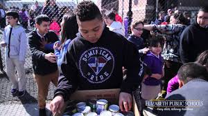 christopher columbus no 15 donates 1 492 cans of food to st joseph s center you