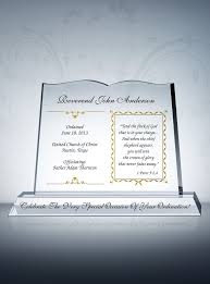 pastor ordination gifts sle congratulation wordings from diy awards this personalized crystal ordination gift memorates ordination in a unique way