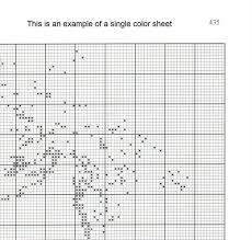 Cowgirl And Horse Cross Stitch Pattern Pdf Easy Chart With One Color Per Sheet And Traditional Chart Two Charts In One