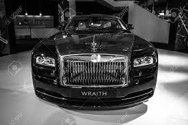 BERLIN - MARCH 08, 2015: Showroom. Full-size Car Rolls-Royce ...
