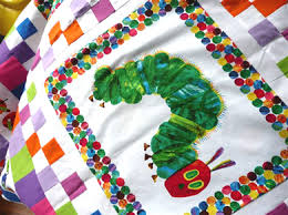the very hungry caterpillar quilt - Frazzy Dazzles & the very hungry caterpillar quilt top Adamdwight.com