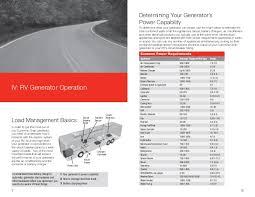 rv generators handbook by cummins onan 6 determining your generator s