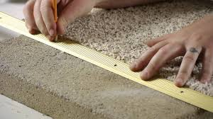 how to install carpet transition trim between concrete carpet flooring carpeting tips you