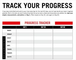 Workout Progress Tracker Sada Margarethaydon Com