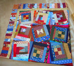 WONKY LOG CABIN WINS AGAIN | Lucie The Happy Quilter's Blog & Wonky Log Cabin Quilt Adamdwight.com