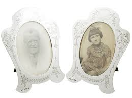 silver antique picture frames. Sterling Silver Photograph Frames - Antique George V (1921) Picture R