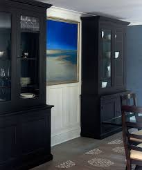 black dining room breakfront cabinets with glass doors cabinet plan 3