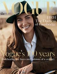 Kate Middleton picks head to toe pastels as she attends Vogue 100.