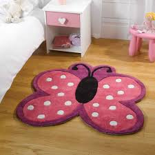 girls bedroom rugs. think pink for your little girl\u0027s room with this butterfly shaped rug. - play polka girls bedroom rugs e