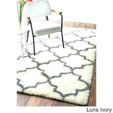 trellis rug design x handmade wool nuloom blue