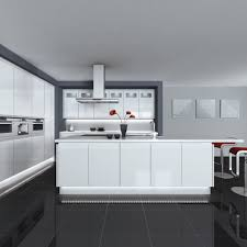 White Modern Kitchen Charming The Best And Modern White Kitchen Modern White Kitchen