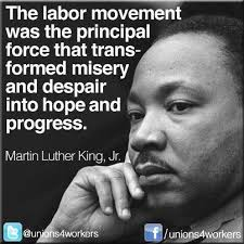 Image gallery for : martin luther king quotes labor union