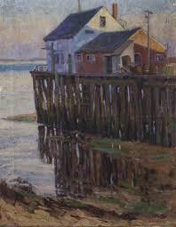 Cochrane, Josphine 1864-1953 Provincetown Oil Painting - Mar 13 ...