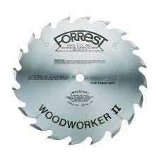 forrest blades. view a larger image of ww10206125 woodworker ii rip blade alt top raker 10\ forrest blades