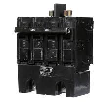 siemens 200 amp double pole 22ka type qpph circuit breaker q2200bh Electric Breaker Panel Box Wiring siemens 200 amp double pole 22ka type qpph circuit breaker