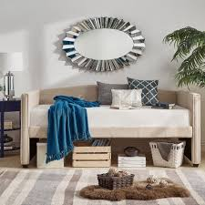 Deco Linen Shelter Arm Daybed and Trundle by iNSPIRE Q Bold - Free Shipping  Today - Overstock.com - 19603443